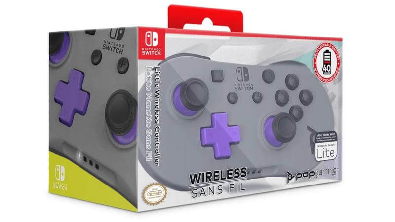 PDP Gaming - Photo of Little Wireless Controller for Nintendo Switch
