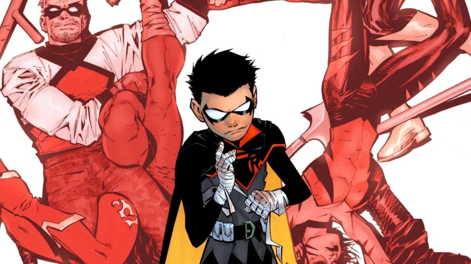 Robin Comics: Damian Wayne Just Died Again