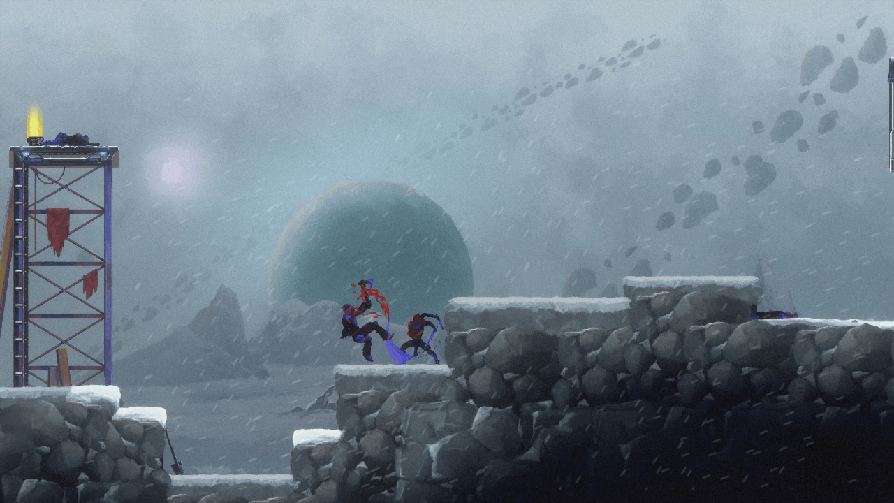 2D Space Western 'They Always Run' Announced for Steam