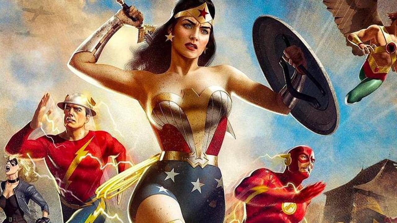 Justice Society: World War II Review - A Passable Superhero Romp