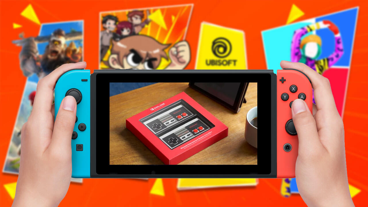 This Week on Nintendo eShop: NES Controller and Ubisoft Sales