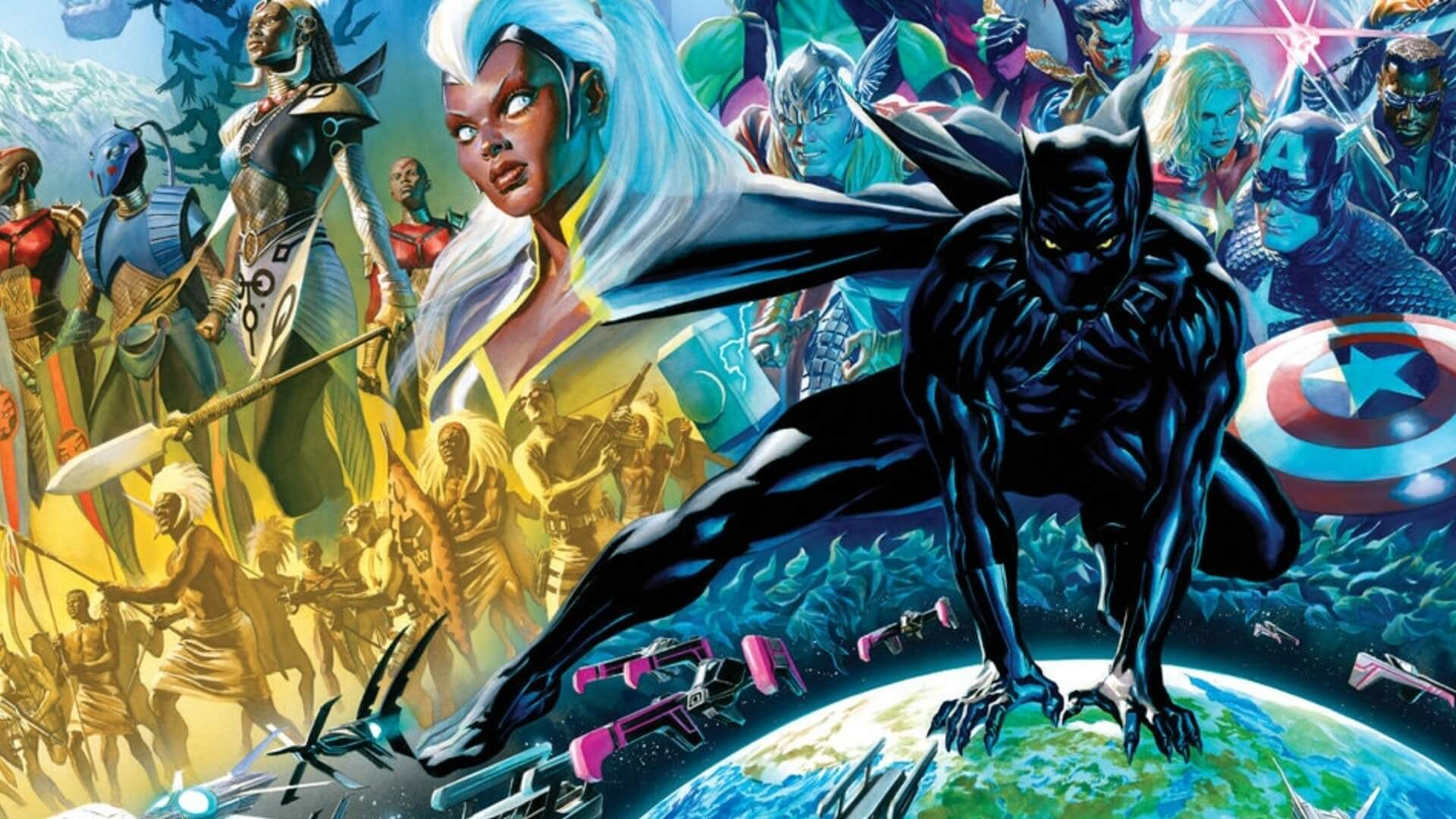 John Ridley Relaunches Black Panther With Juan Cabal