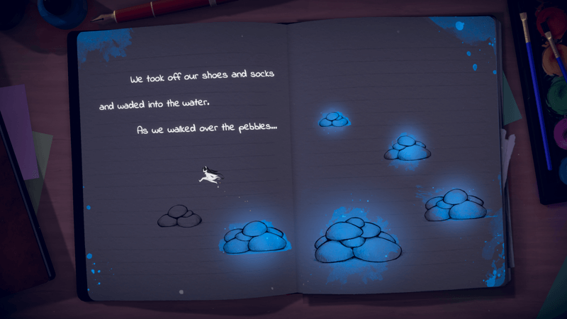 Lost Words: Beyond the Page 2D platformer