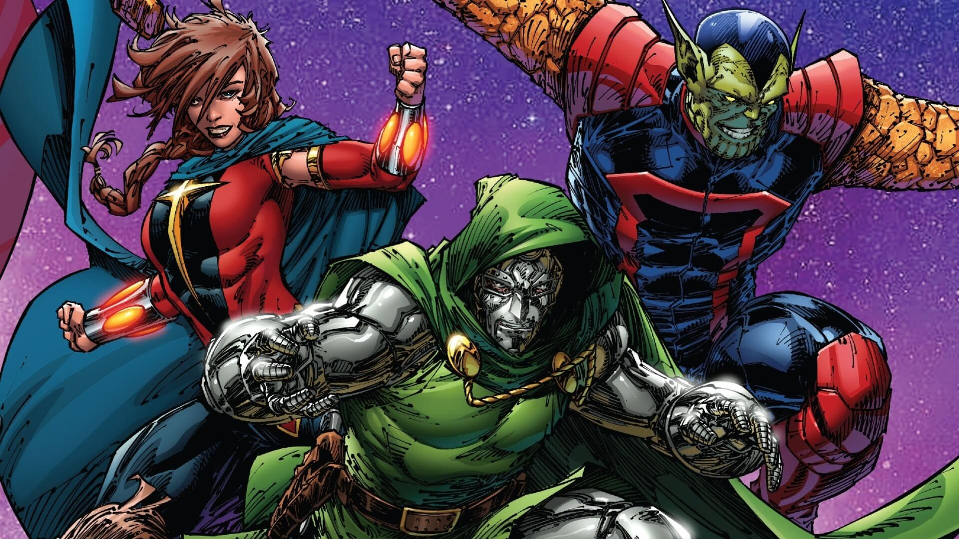 Doctor Doom Joins the Guardians of the Galaxy in Latest Issue