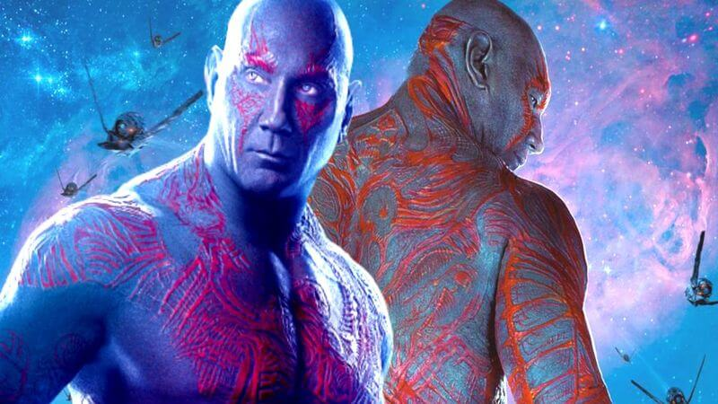 Drax From Guardians Of The Galaxy