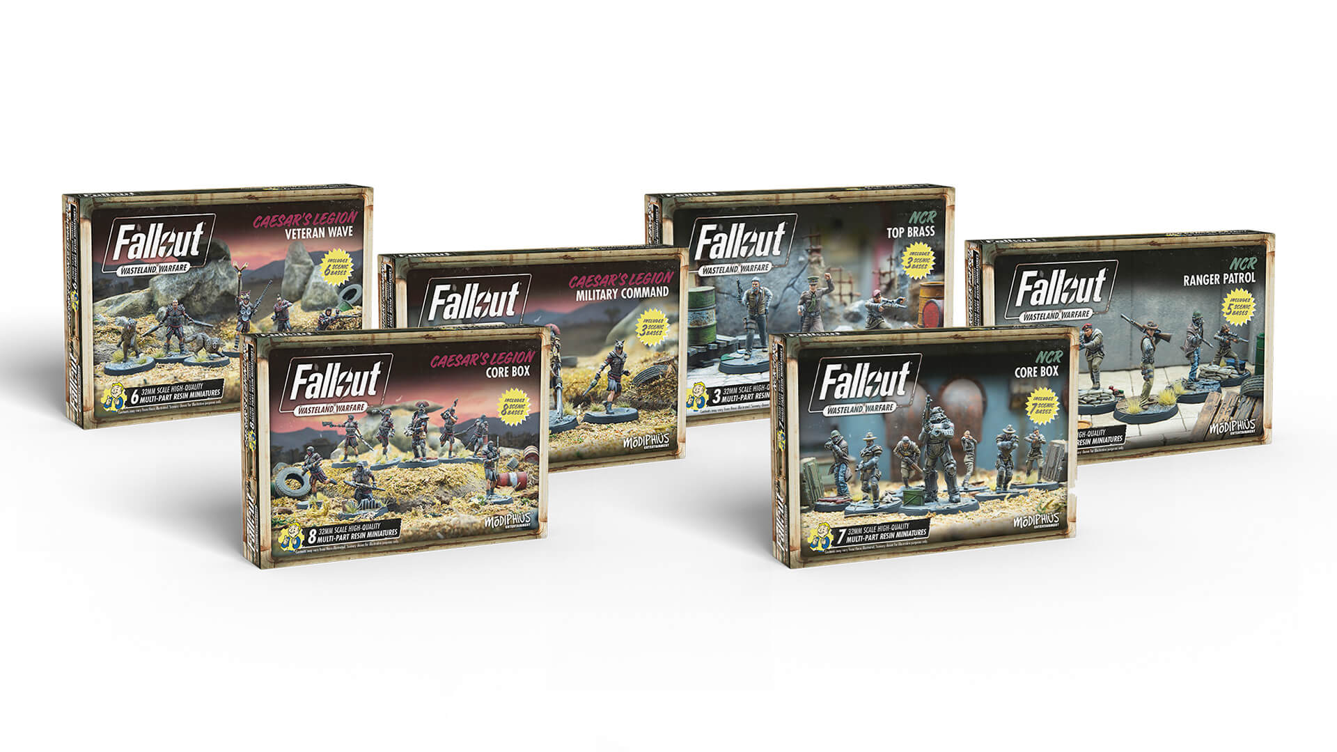 Fallout Wasteland Warfare Expansion Takes Us Back to New Vegas
