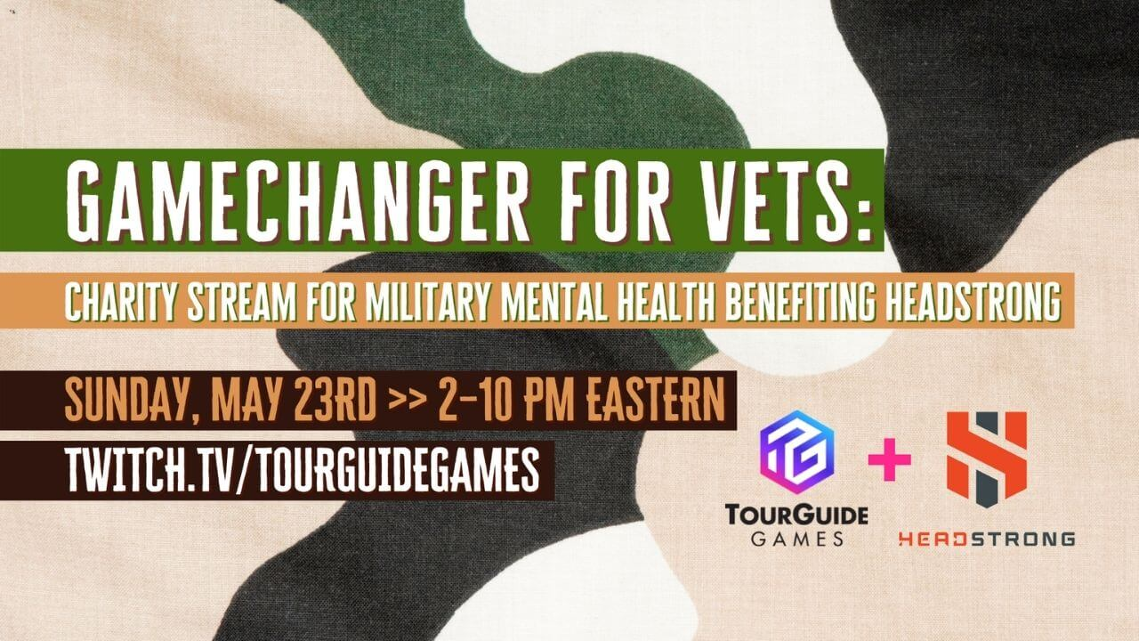 GameChanger for Vets Charity Stream Announced for May 23