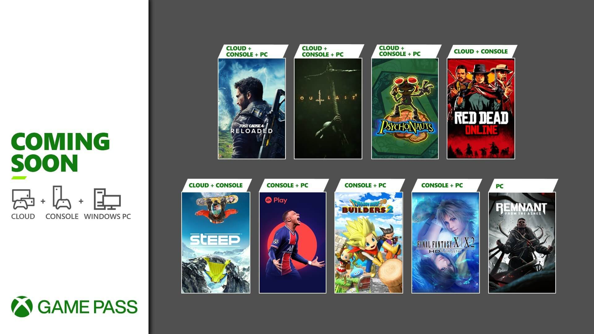 Xbox Game Pass Adding Red Dead Online, FIFA 21, and More This Month