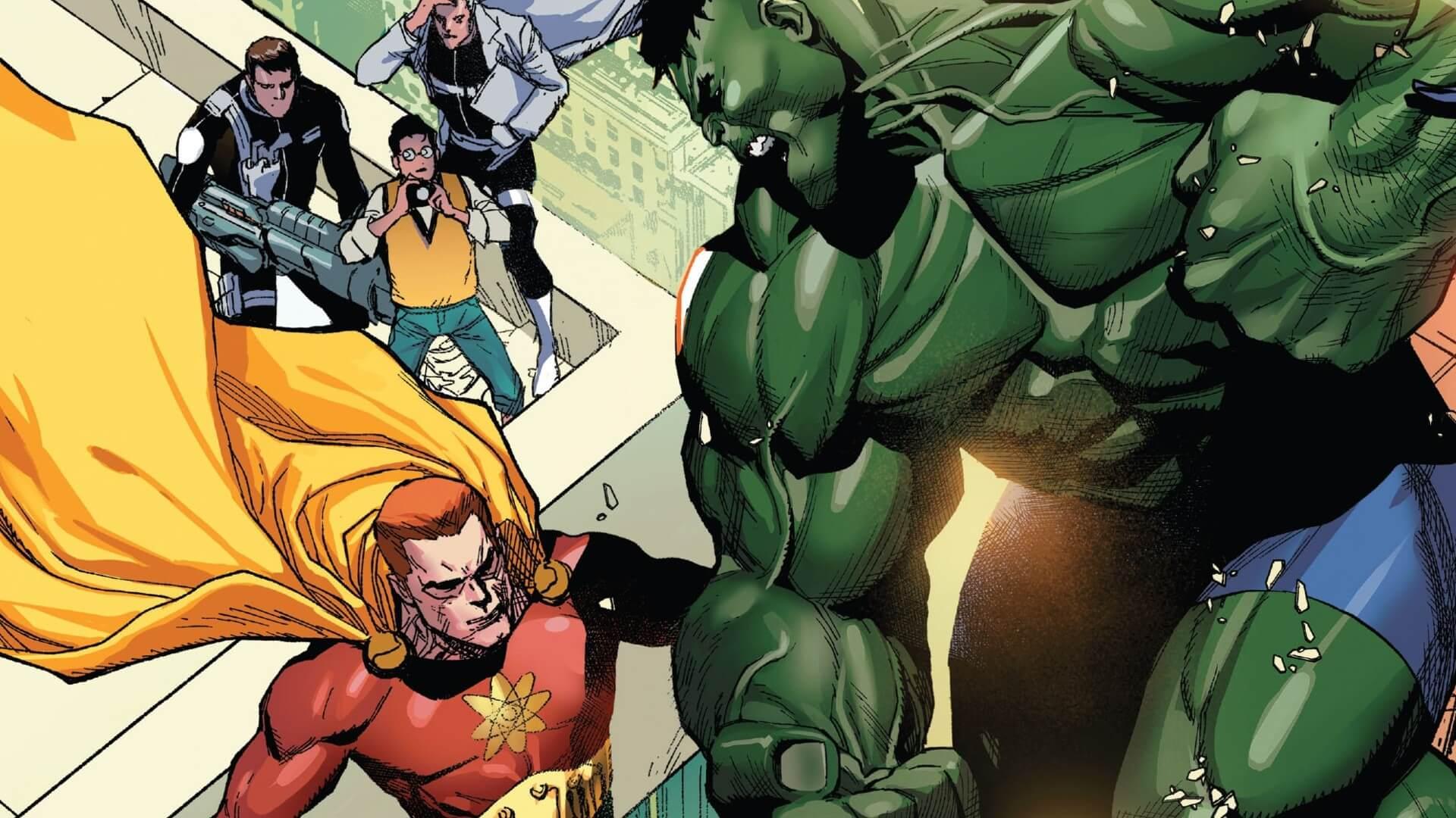 Hyperion--Marvel's Superman--Just Killed the Hulk