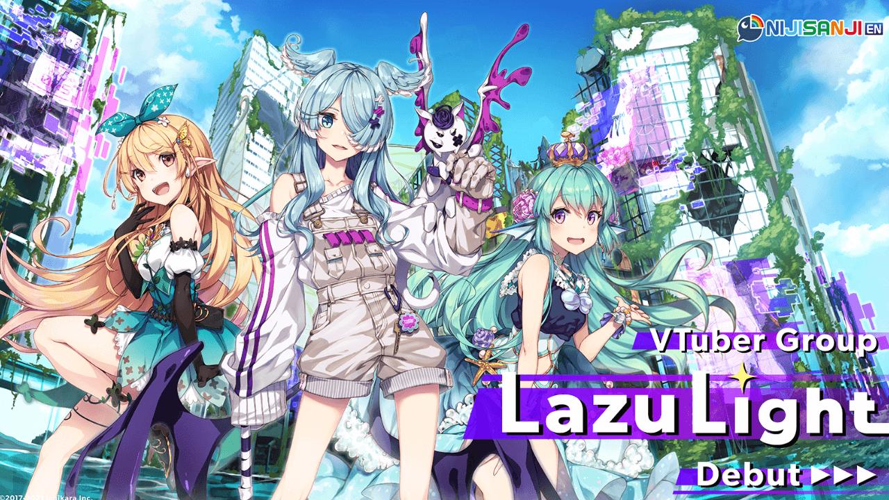 Nijisanji EN: LazuLight - A Fairy, a Mermaid, and a Dragon