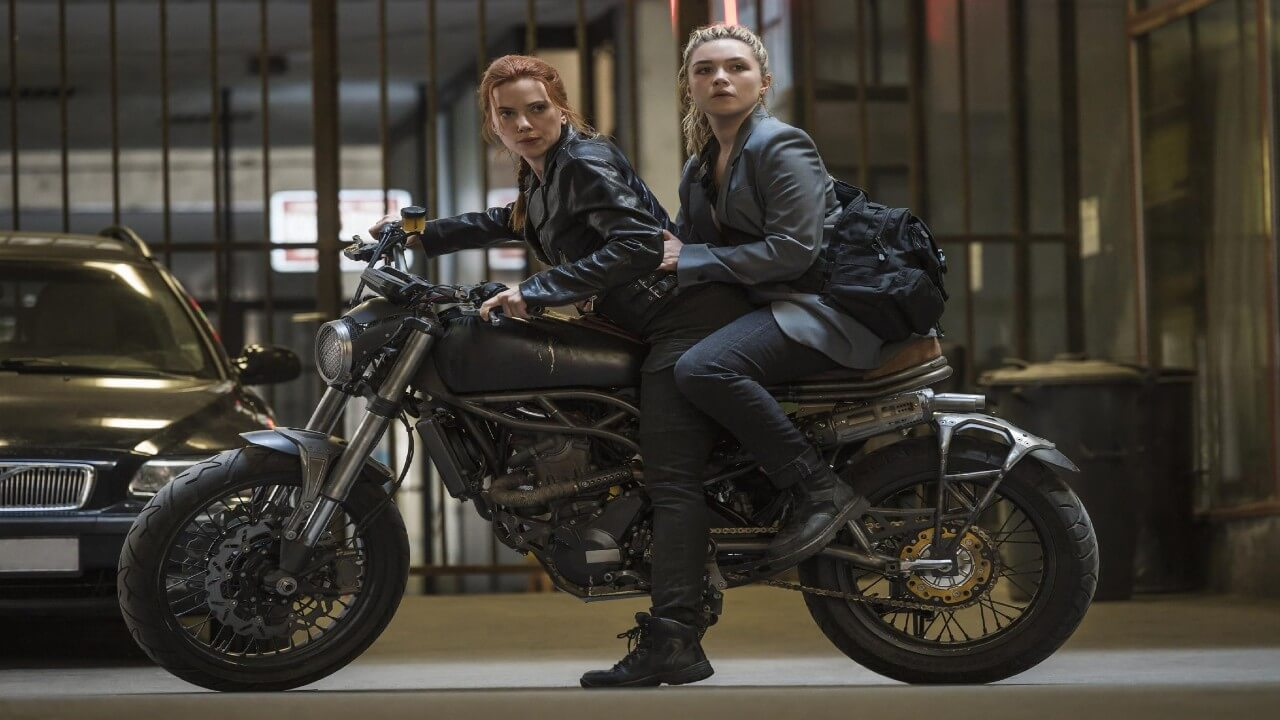 New Black Widow Clip Shows Intense Car Chase