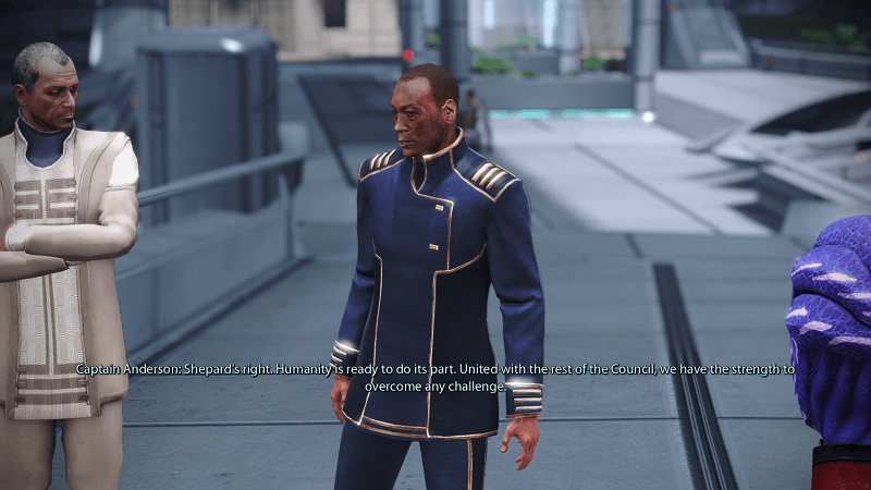 Mass Effect Legendary Edition Udina or Anderson