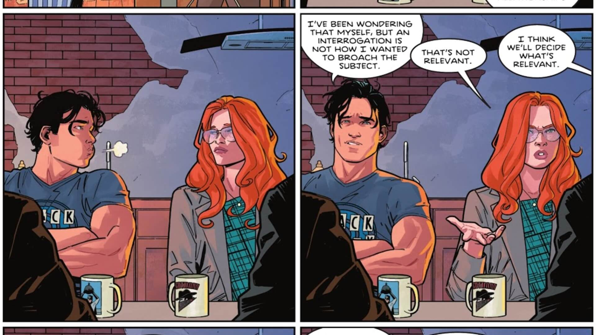 Nightwing and Oracle Back Together Dick Grayson Barbara Gordon
