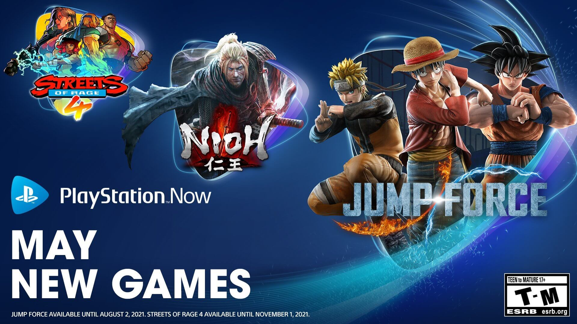 PlayStation Now Announces New Additions for May