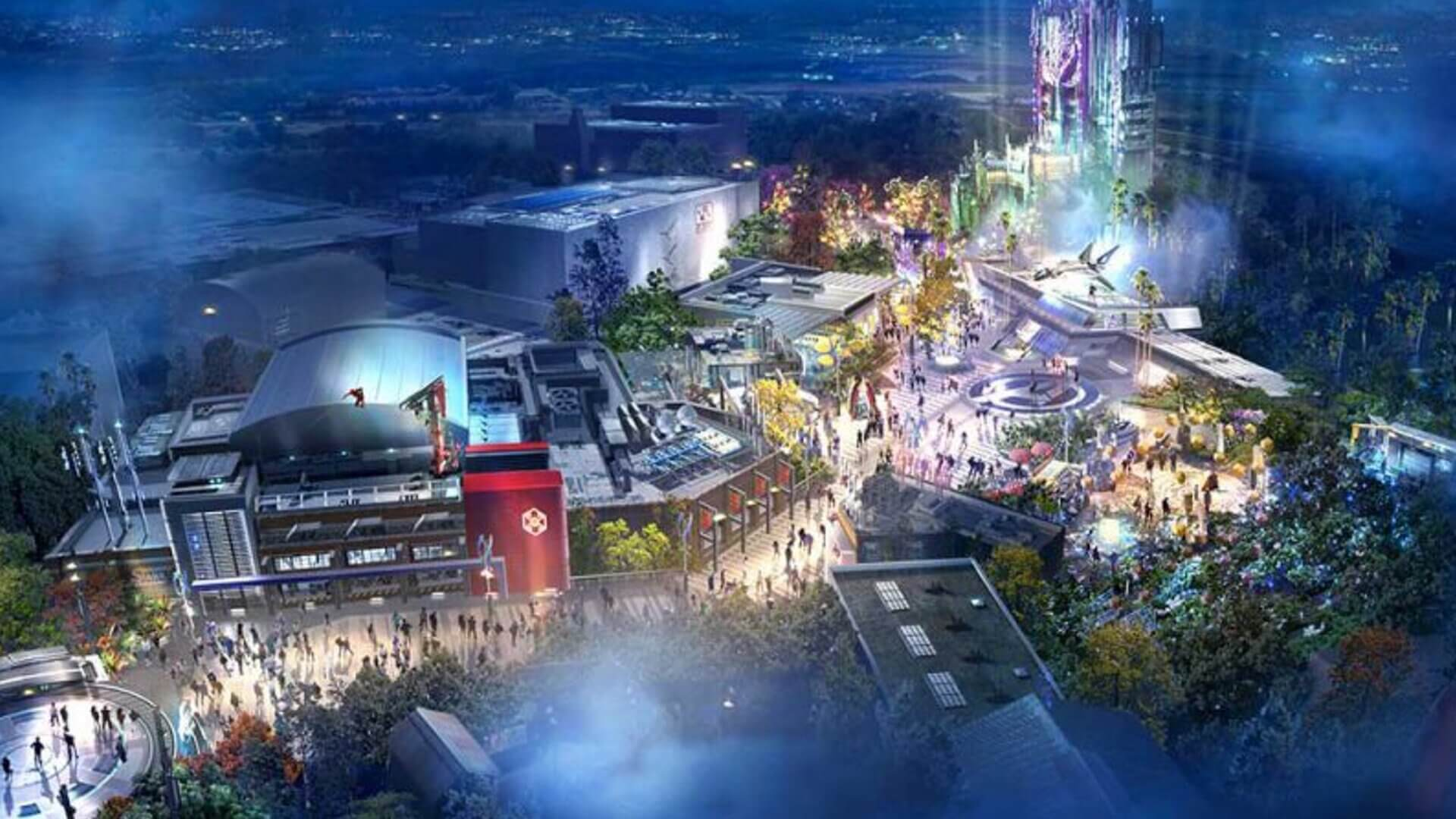 Avengers Campus to Livestream Opening Ceremony