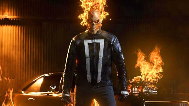 Ghost Rider, Agents of SHIELD, MCU