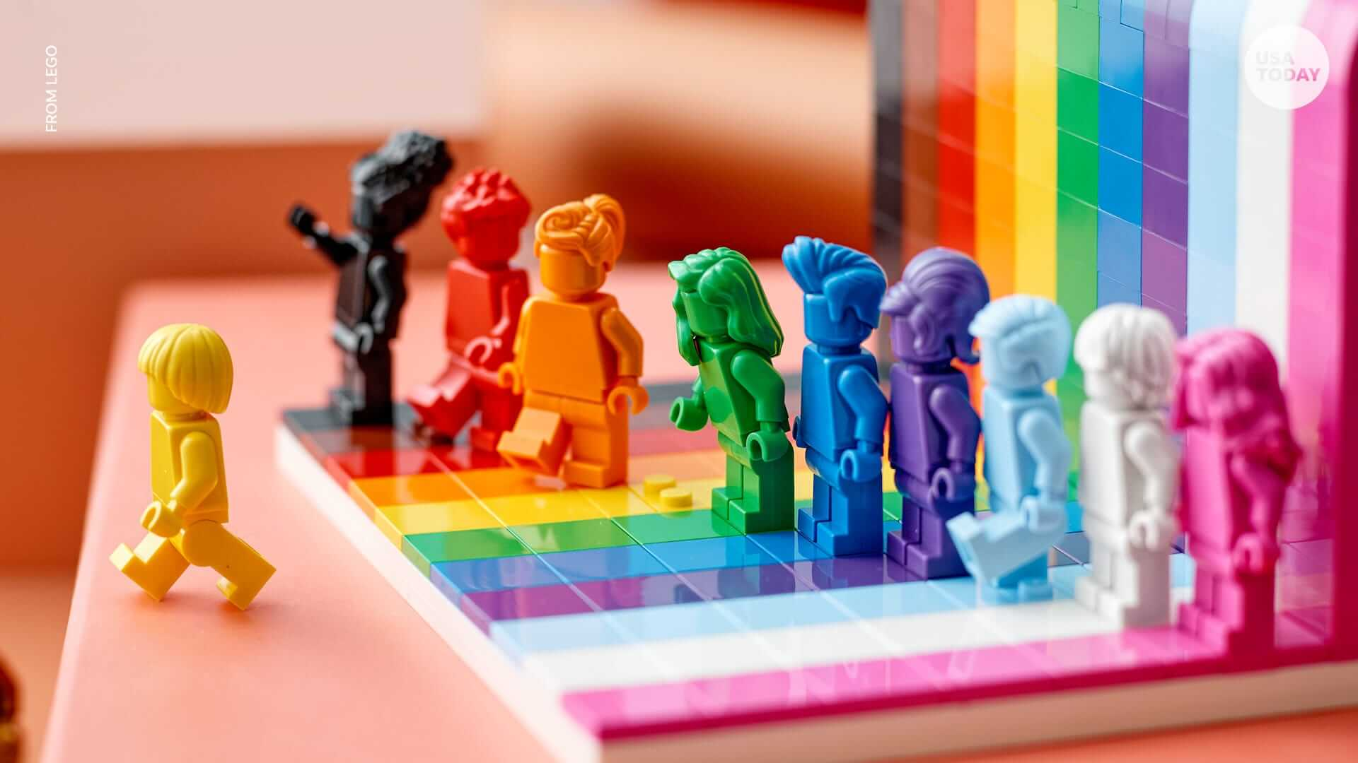 Lego 'Everyone Is Awesome' Set Releases During Pride Month