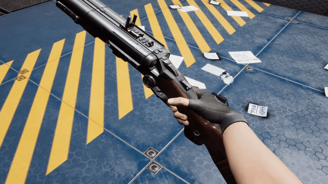 Step 'Into The Darkness' with the Double-Barrel Shotgun Overview