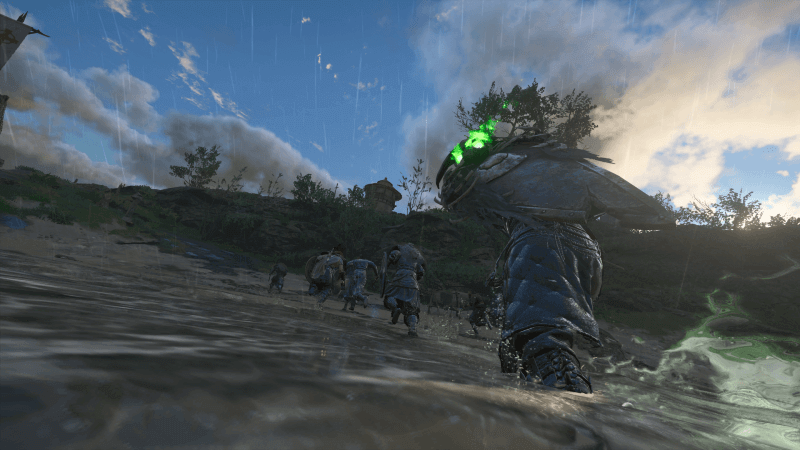AC Valhalla River Raid in PhotoMode with Vikings