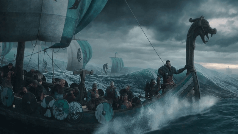 Assassin's Creed Eivor Ships to Battle