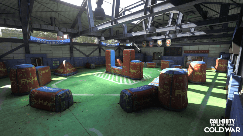 Call of Duty: Black Ops Cold War and Warzone Rush Map for Multiplayer
