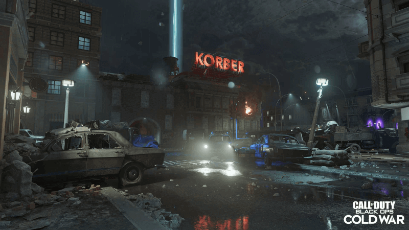 Call of Duty: Black Ops Cold War and Warzone Season Four zombie map