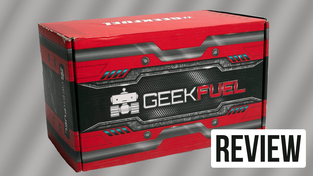 Geek Fuel Review: Strike Force Edition