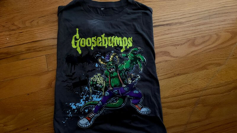 Photo of Goosebumps T-Shirt - Geek Fuel Monsters and mutants