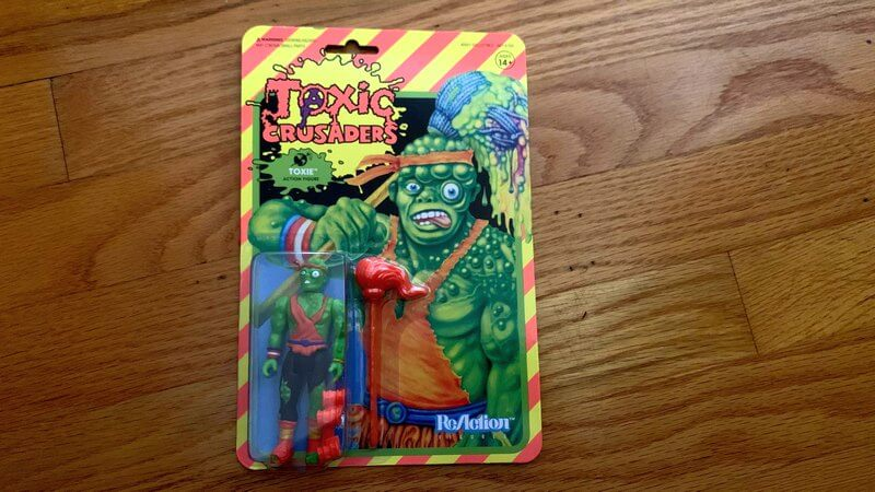 Photo of Toxic Crusaders Super 7 Reaction figure