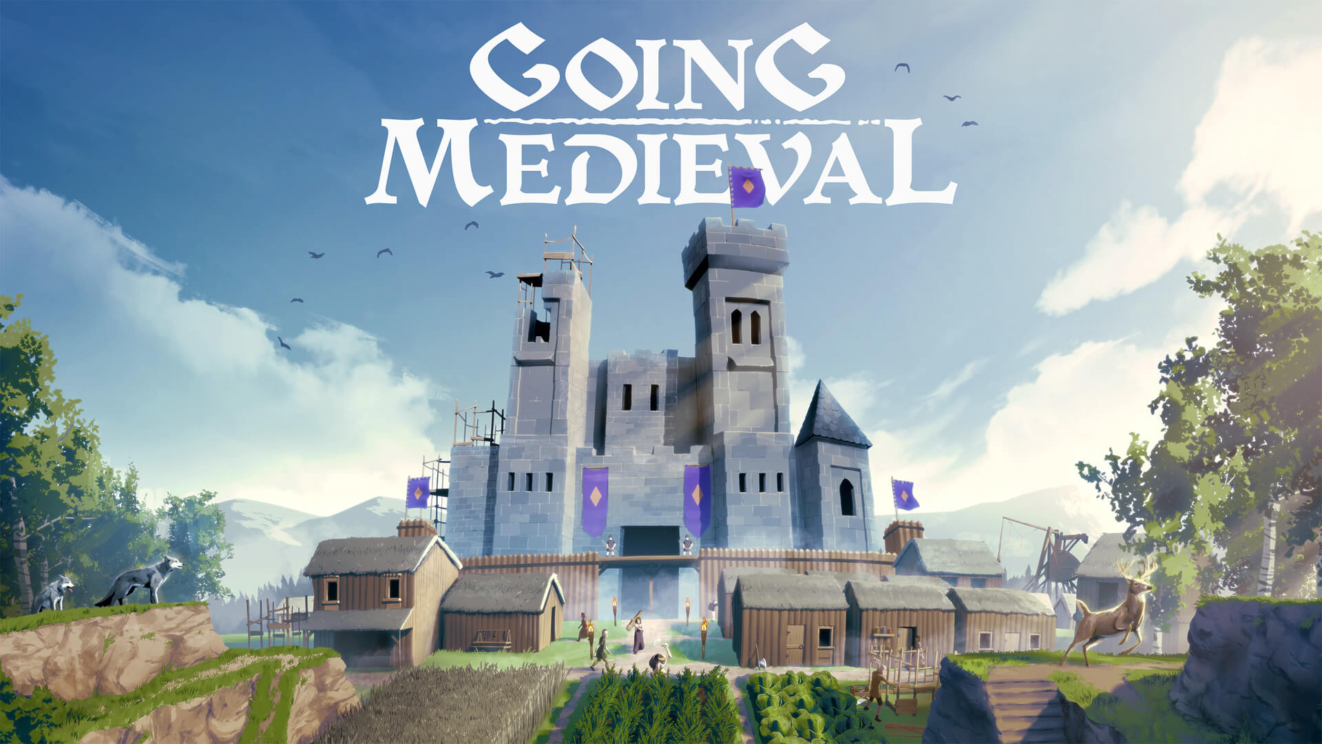 Going Medieval, a Survival Based City Sim, Launches to Early Access