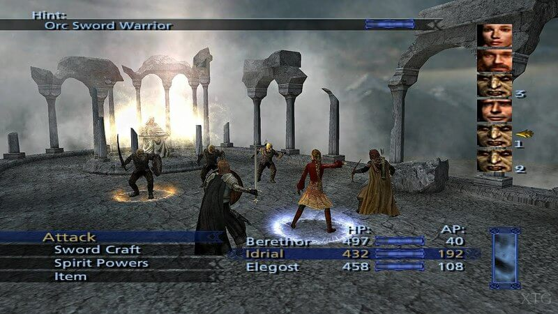 Lord of the Rings The Third Age battle