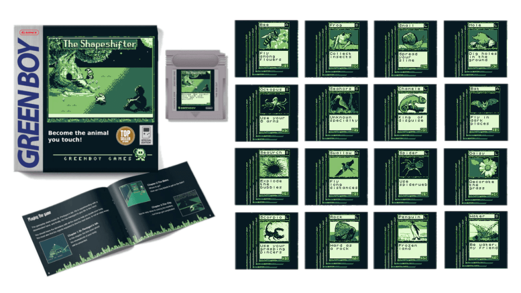 The Shapeshifter, a Game Boy Title By Green Boy Games, Comes in July