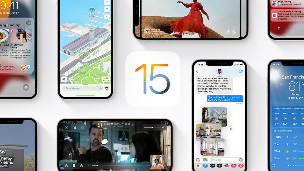 Apple Has Released the First Public Beta for iOS 15