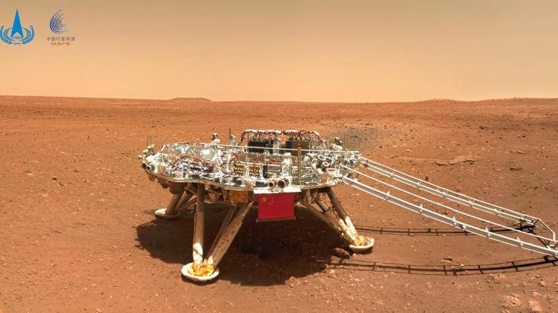 China Space Exploration Mars Rover