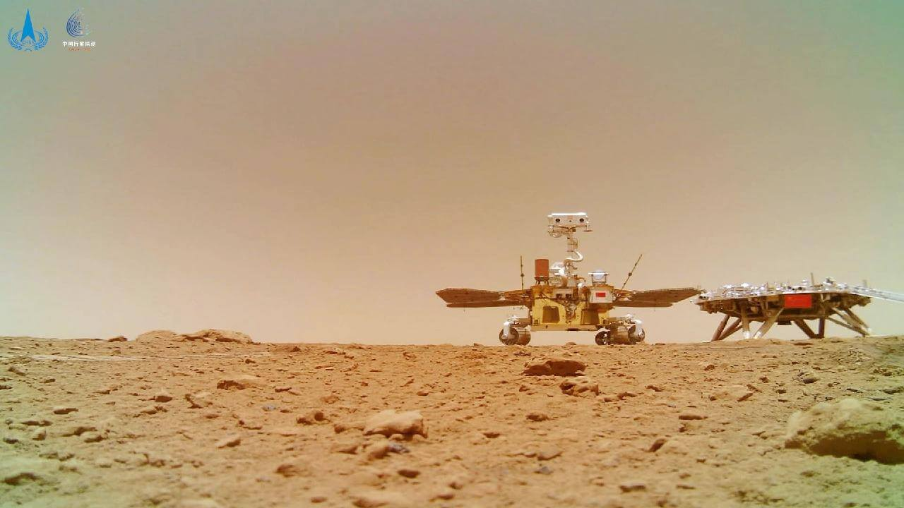 China's Rover Takes New Images of Mars