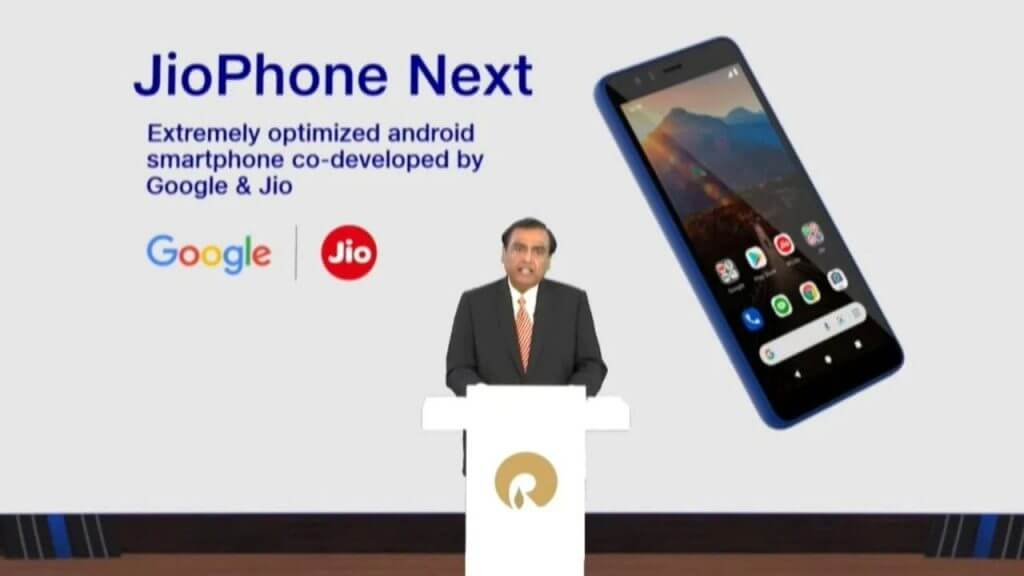Jio and Google Have Unveiled a New Smartphone