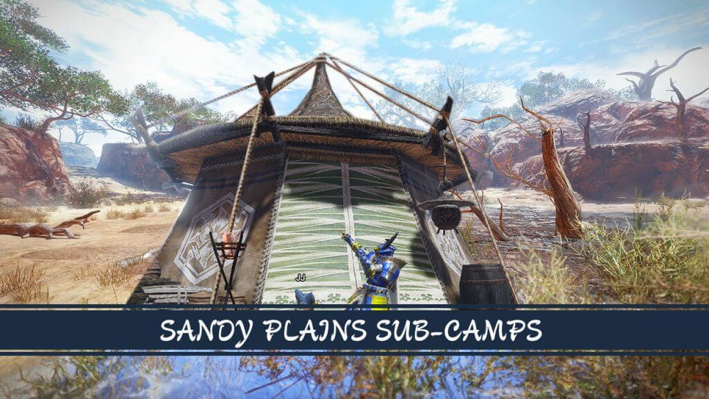 Monster Hunter Rise Guide: Sandy Plains Sub-Camp Locations and Quest