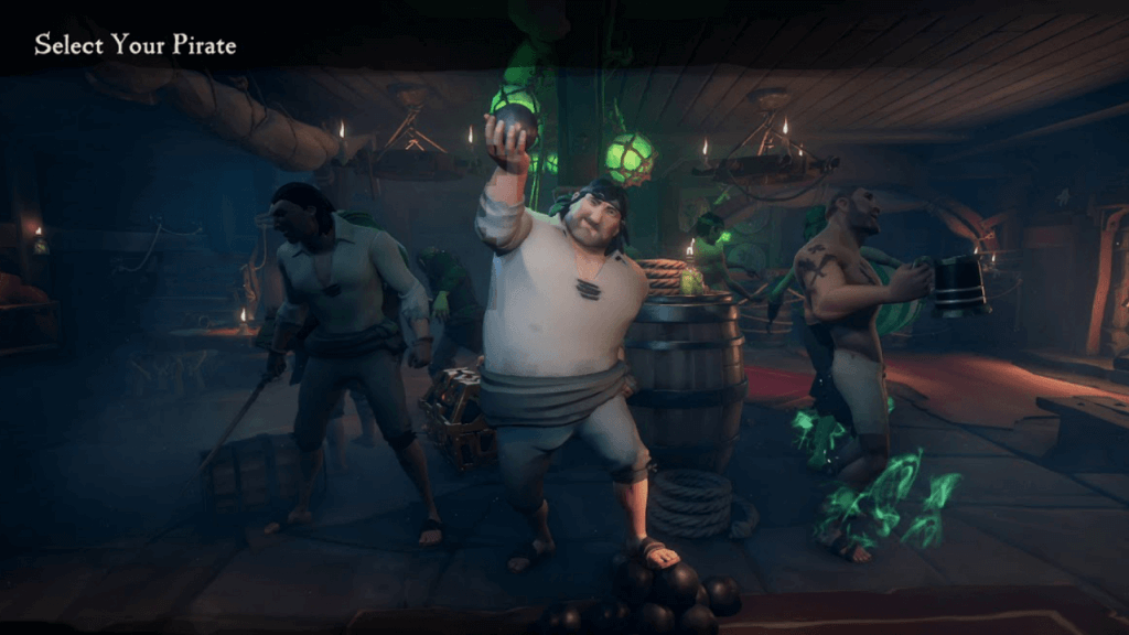 Can You Change Your Character in Sea of Thieves?