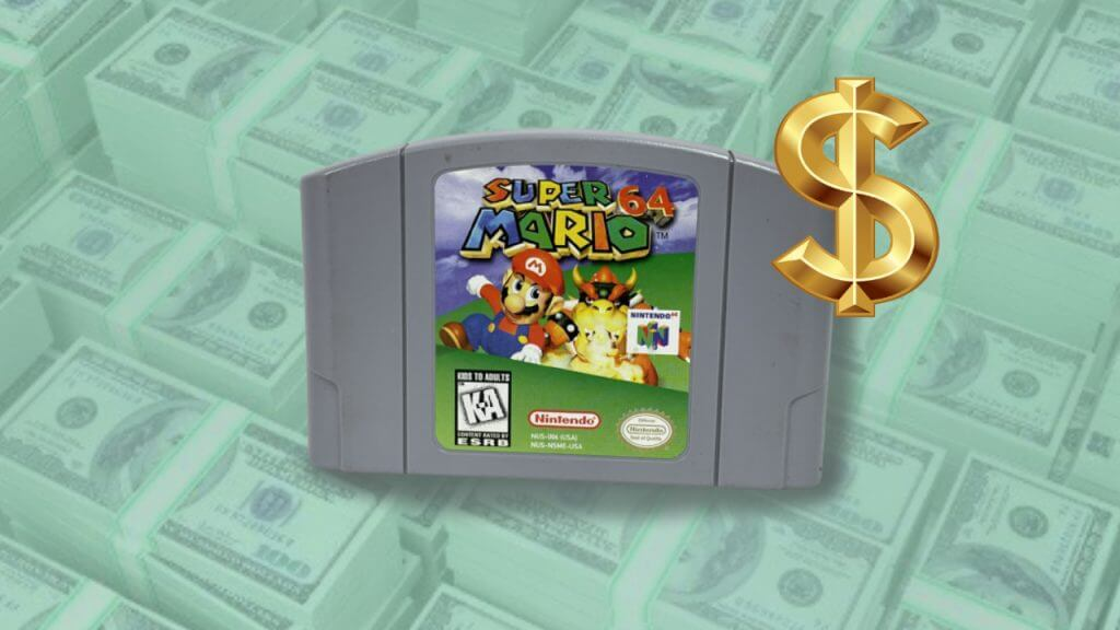 Super Mario 64 Cartridge Sold at Auction for $1.5 Million