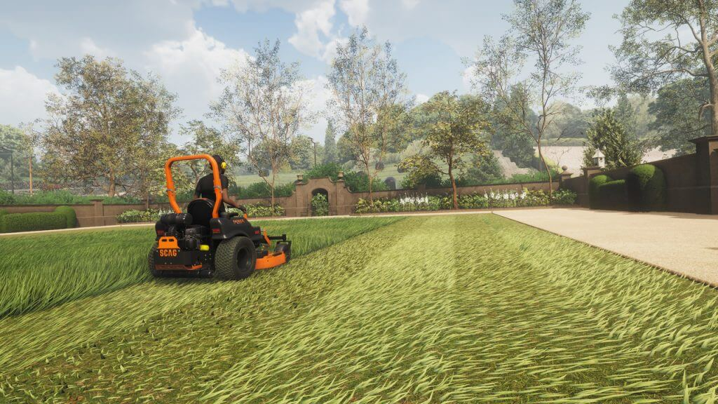Lawn Mowing Simulator Releases August 10th on PC and Xbox