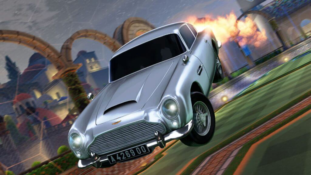 James Bond Drifts Into Action on Rocket League with Aston Martin DB5