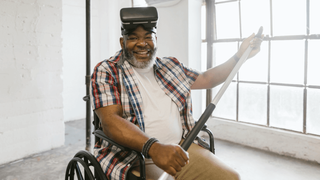 Wheelchair Mobility Experience is a Wheelchair Game by Students