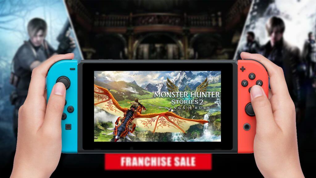 This Week on Nintendo eShop: Monster Hunter and Resident Evil Sales