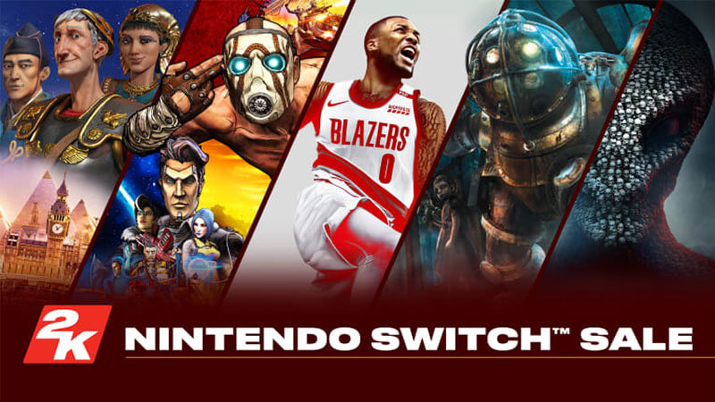 July Nintendo Switch eshop sales and releases