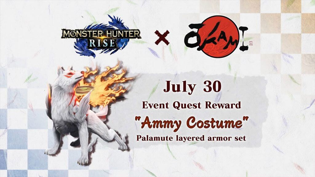 Okami Comes to Monster Hunter Rise This Weekend