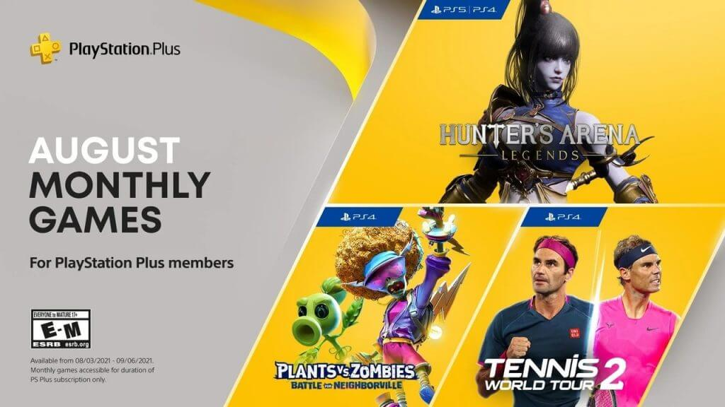 PlayStation Plus's August Lineup Includes Hunter's Arena: Legends