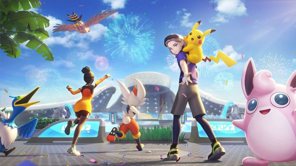 Pokemon UNITE is Now Available on Nintendo Switch