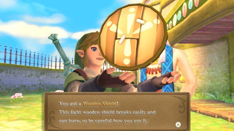 the legend of zelda skyward sword hd guide how to use the shield free shield from Owlan