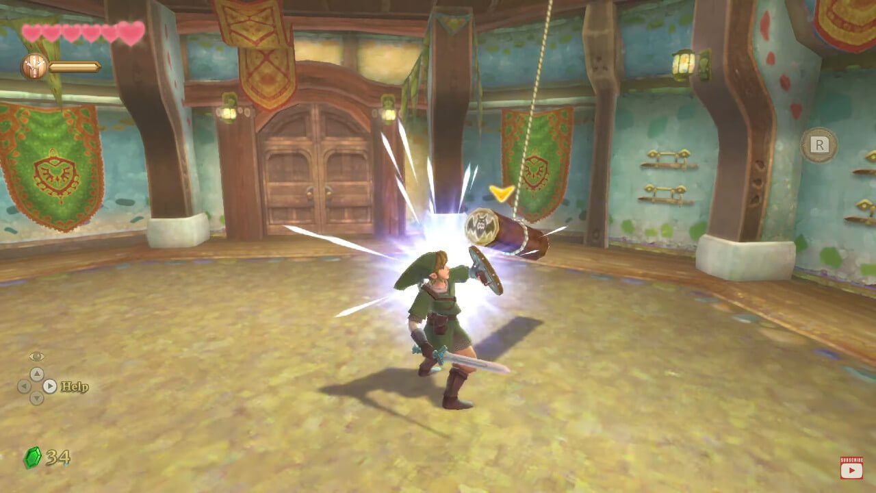 The Legend of Zelda Skyward Sword HD: How to Equip, Use the Shield
