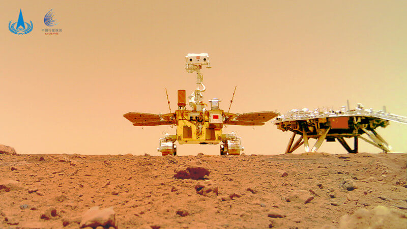 space travel news  - zhurong rover - This Week's Space Travel News in 400 Words